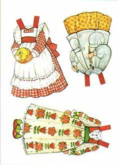 Image result for pinterest ginghams paper dolls printable