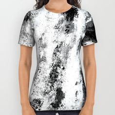 https://society6.com/silverpegasus, Buy Perseverance Black & White all over print shirt by SilverPegasus for Society6, apparel, clothing, tops, t-shirt, fashion, all over print shirt, anstract, modern, black and white, stylish, trendy, buy all over print shirts, buy t-shirts, best clothing ideas on Pinterest #apparel #clothes #top #tshirt #alloverprint #blackandwhite #society6