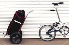 Resultado de imagem para bike trolley