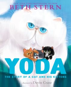 "Beth shares stories of cats and gives insights into ""Yoda: The Story of a Cat and His Kittens,"" about the cat who loved the Sterns' foster kittens. Description from catchannel.com. I searched for this on bing.com/images"