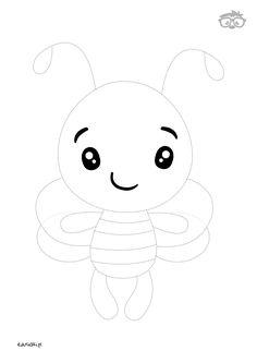 Uzupełnianka Pszczółka #naukarysowania #dladzieci #edusiaki #kolorowanki #krokpokroku #uzupelnianki #lamiglowki Hello Kitty, Fictional Characters, Art, Art Background, Kunst, Performing Arts, Fantasy Characters, Art Education Resources, Artworks