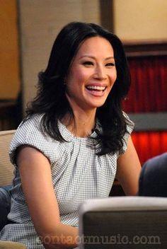 Lucy Liu (Joan Watson) She's so pretty!!!