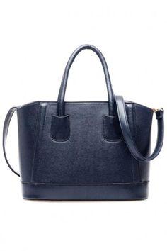 AdoreWe - oasap Candy Color PU Leather Shoulder Bag - AdoreWe.com