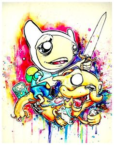 Adventure Time| Ghost Town Art