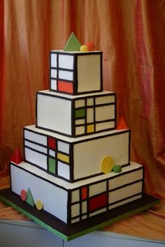 gearing up for a price tower wedding looking for other folks ideas i found this i like this one very much cake possibilities art deco office tower piet
