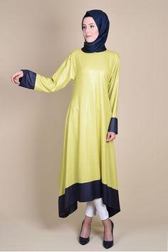 Detayları Göster Al-Marwah Tunik Yeşil