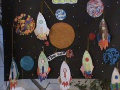 The Solar System classroom display photo - Photo gallery - SparkleBox