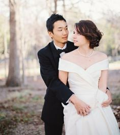 "Grace Buchele Mineta Shared: ""My husband (Japanese) and I (white, American) met in college - when he studied abroad in America. We fell in love and did long distance for two years, before finally tying the knot and (me) moving to Japan. We're happily married now, living in the outskirts of Tokyo - as the only Asian-White interracial couple in the town."""