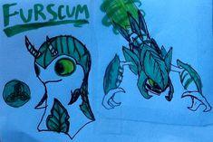 slugterra elemental slugs | Furscum: can ram through most substances with its powerful leaf armor ...