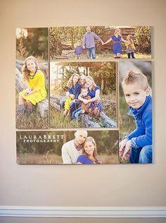 Home Decor Ideas - Creative ways to display your family photos