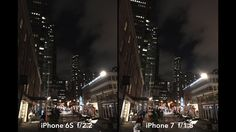 """The new iPhone 7 camera vs. iPhone 6S camera    Köln Germanyat Photokina Griffin compares the new f/1.8 camera on the iPhone 7 to its f/2.2 predecessor on the iPhone 6S.  Optical image stabilization and bigger aperture make it better for filmmakers but not enough to warrant an upgrade.  About Griffin Hammond:  Griffin Hammond is a documentary filmmaker covering political narratives at Bloomberg TV in New York City. Director of the award-winning documentary """"Sriracha."""" Let's Get Connected…"""