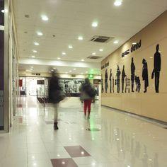 Detalle del centro comercial David