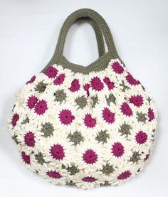 FLOWER CROCHET BAG