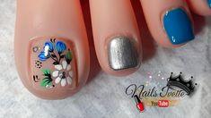 Nail Art Videos, Nail Designs, Nails, Youtube, Work Nails, Toe Nail Art, Short Nail Manicure, Nail Manicure, Pedicures