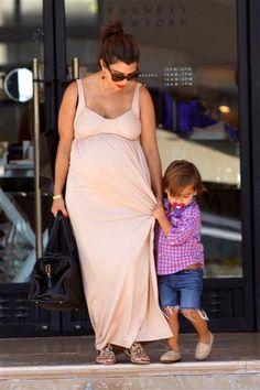 Maternity Fashion Face-Off: Kim vs. Kourtney