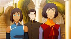 {reminder that this is the first time Korra has seen Bolin in three years}