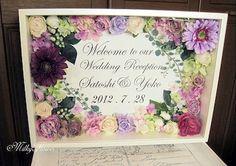 Wedding Boxes, Wedding Signs, Wedding Flowers, Wedding Crafts, Diy Wedding, Flower Decorations, Wedding Decorations, Wedding Welcome Board, How To Preserve Flowers