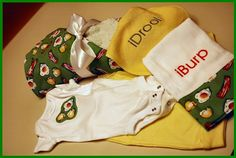 Sew Gifts for a new Baby Boy – Bibs, Burp Cloths, Blankets, Clothing and More ~ motherlode of baby boy DIY stuff