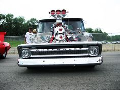 Chevy Truck - Monster Engine by King-German-Fool, via Flickr