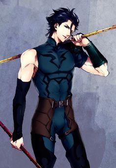 Lancer Diarmuid | Fate Series | ♤ #anime ♤