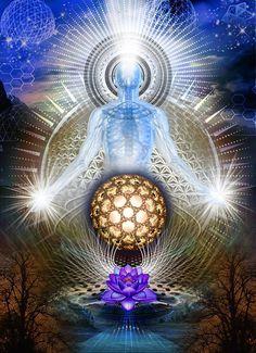 Image Yoga, Image Zen, Kaleidoscope Art, Art Visionnaire, Psy Art, Visionary Art, Sacred Art, Psychedelic Art, Fractal Art