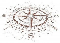 vector design of grunge compass Stock Photo - 12497166