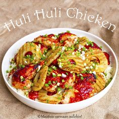 Maistuis varmaan sullekin!: Huli Huli -kana Lunches And Dinners, Meals, Huli Huli Chicken, Bird Food, Sweet And Salty, Pasta Salad, Food And Drink, Cooking Recipes, Favorite Recipes