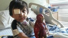 4-Year-Old Gets Mauled by Pit Bull; Facebook Rallies to Prevent Dog From Being Put Down!!  wtf?!