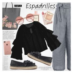 """""""Step into Summer: Espadrilles"""" by vanjazivadinovic ❤ liked on Polyvore featuring MANGO, Gucci, Chie Mihara, Dolce&Gabbana, Belkin, Lipstick Queen, espadrilles, polyvoreeditorial and zaful"""