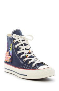 d3a00f7ba12b37 Converse - Chuck Taylor All Star 70s First Pride Parade Hi Top Sneakers  (Unisex)