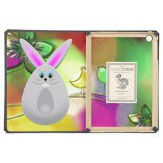 Funny Bunny Egg DODO Case For iPad Air