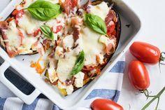Pizzageschmack ganz ohne Teig - dafür Low Carb und mit Gemüse! So dermaßen lecker, das musst du auf alle Fälle ausprobieren! Viel Spaß!