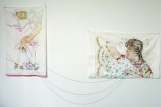 Wow, the creative things you can create with two pillowcases!