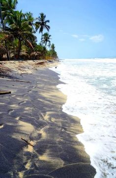 A gorgeous Colombian beach. So relaxing! #Colombia