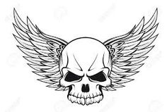 wings & skeleton - Google Search