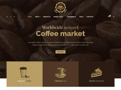 """Mr Coffee – Coffee Store Free HTML Template created specially for coffee markets, online coffee stores, cake and desserts stores, tea markets, coffee shops and other. The template is suitable for large coffee companies, which have a network of markets and cafes around the world, for this purpose the page """"Where to buy"""". Also, the template includes all the necessary pages of the online store. So that you can sell your goods."""