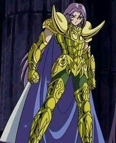 Mu de Aries. Mu es telépata y telequinético. Conocido por tener los poderes mentales más fuertes entre los 12 Santos de Oro, el mismo Aioria lo admite en su pelea contra los Espectros en la Casa de Leo.