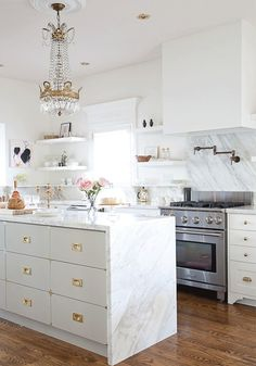 Glam Kitchen from Signature Hardware...love their products.