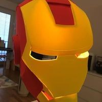 Build an Iron Man Helmet for Cheap!: 10 Steps (with Pictures) Iron Man Helmet, Building, Projects, Pictures, Log Projects, Photos, Blue Prints, Buildings, Construction