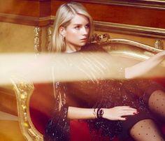 Lottie Moss Shines in Harper's Bazaar Russia Cover Shoot