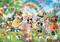 One of the most beautiful puzzles ever created disney world map disney mickeys birthday ravensburger jigsaw puzzle 1000 piece gumiabroncs Images