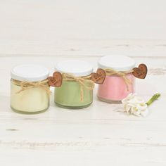 Wedding Favour Personalised Scented Candles Wedding favour candles
