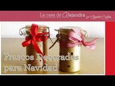 La casa de Alejandra: Consiente a tus Amigos con estos Sencillos Frascos Decorados para Navidad DIY Alejandra Coghlan