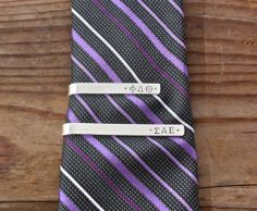 Fraternity Tie Bar / Tie Clip Sterling Silver  by TomisTreasures, $40.00