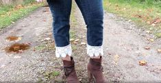 In my tutorial, I add a little something extra to a thrifted pair of jeans. This thrift flip will definitely take your jeans from drab to fab!