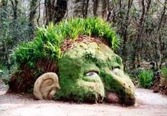 Thanks Gail - But not So original - I was inspired by a photo I saw online of a head in The Lost Gardens of Heligan and just knew it would be really cool in wool.