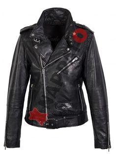 LEREN JAS HEREN  #Perfecto 9915 black