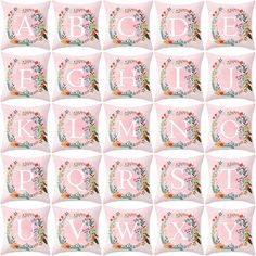 £1.57 Initial Floral Cushion Covers