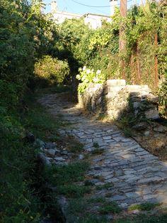Kalderimi in Milies, Pelion, Greece Greek Islands, Greece, Country Roads, Outdoors, Image, Beautiful, Greek Isles, Greece Country, Outdoor