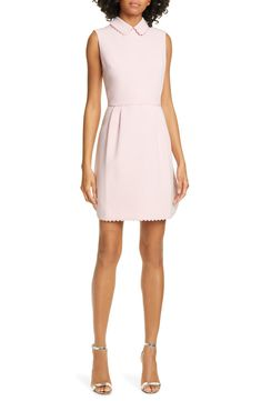a894dd3a4 Ted Baker London Ezzy Scalloped Detail Dress